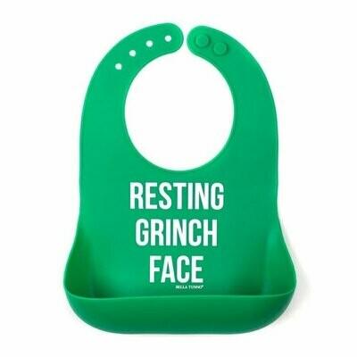 Restin Grinch Face Bib
