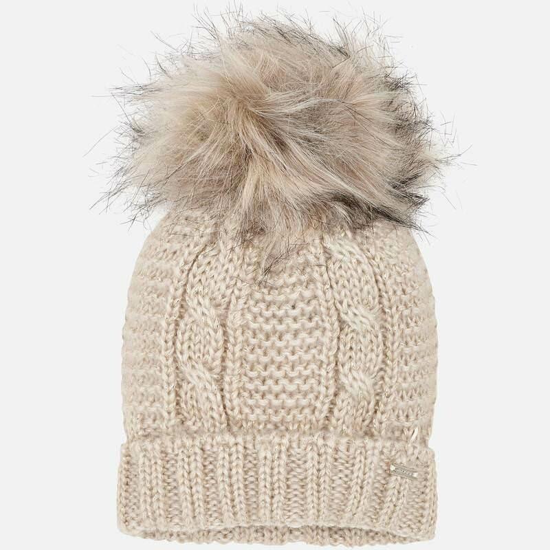 Beige Hat 10607- 54