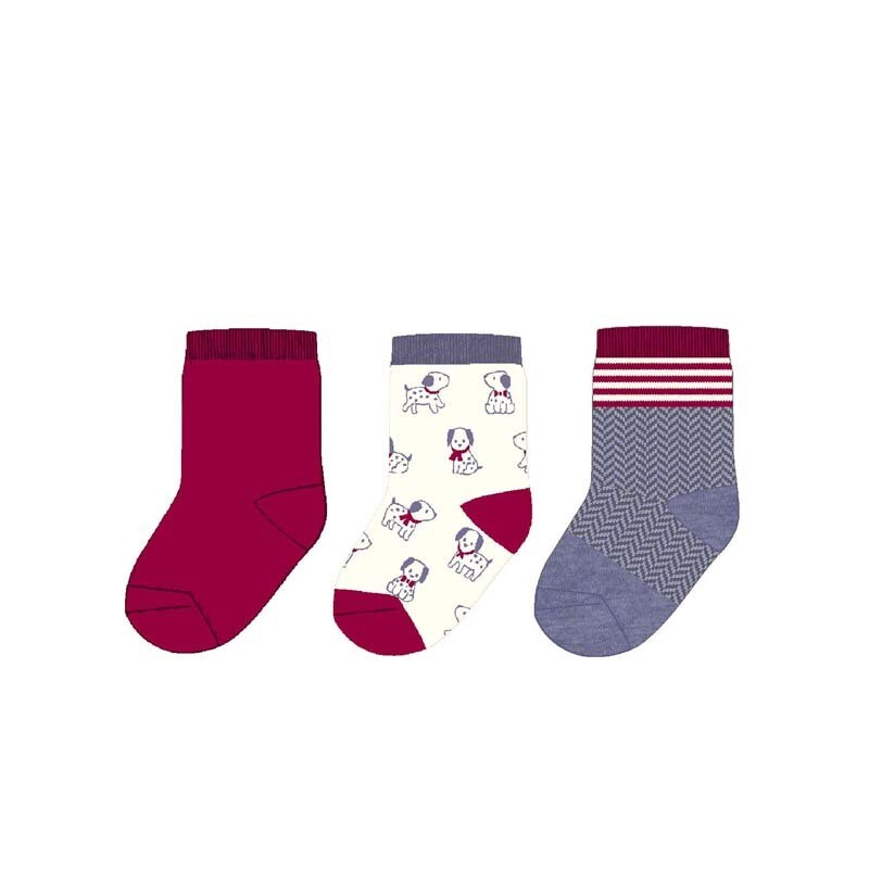 Red Sock Set 9160 6m