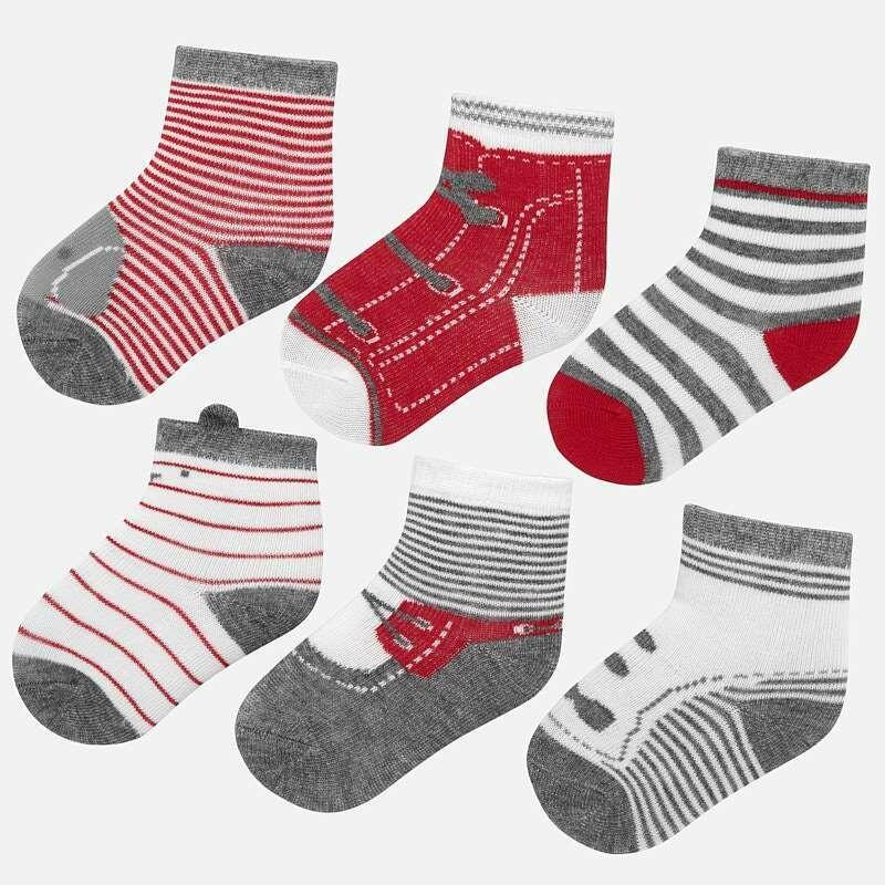 Red Sock Set 9169 12m