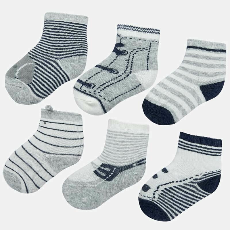 Grey Sock Set 9169 18m