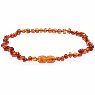 Cognac Amber Necklace