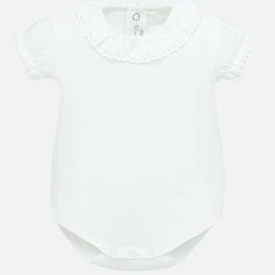 White Onesie 1782 2/4m