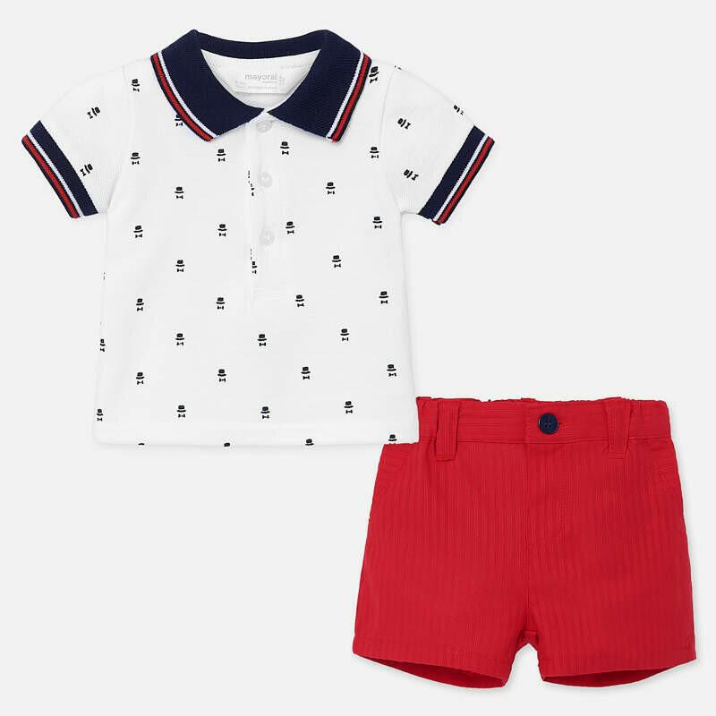 Polo & Shorts Set 1270 12m
