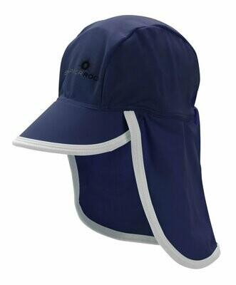 Navy Flap Hat