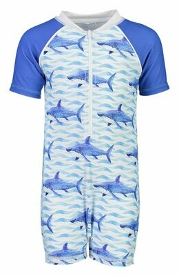 School of Sharks Sunsuit 1