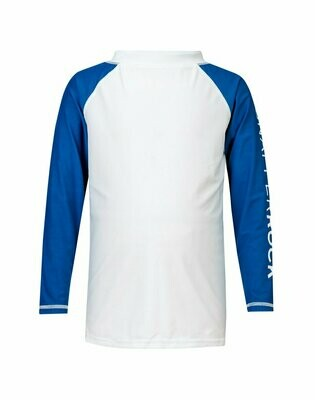 Blue Sleeve Rash Top 8
