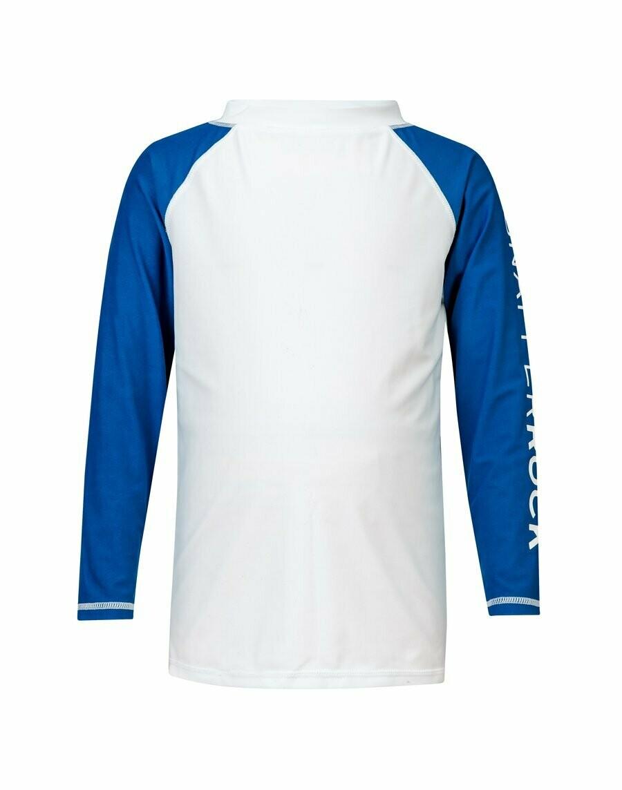 Blue Sleeve Rash Top 3