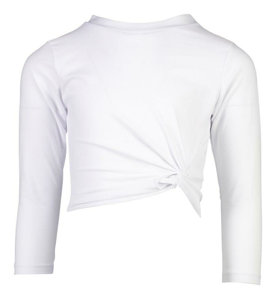 White Crop Rash Top 4