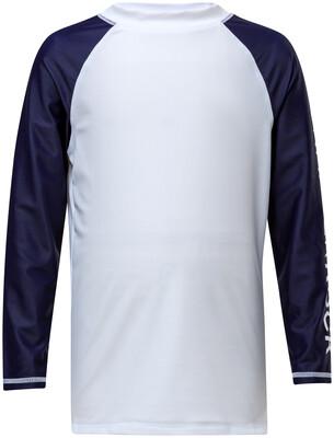Navy Sleeve Rash Top 8
