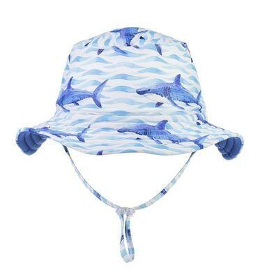 School of Sharks Bucket Hat - M