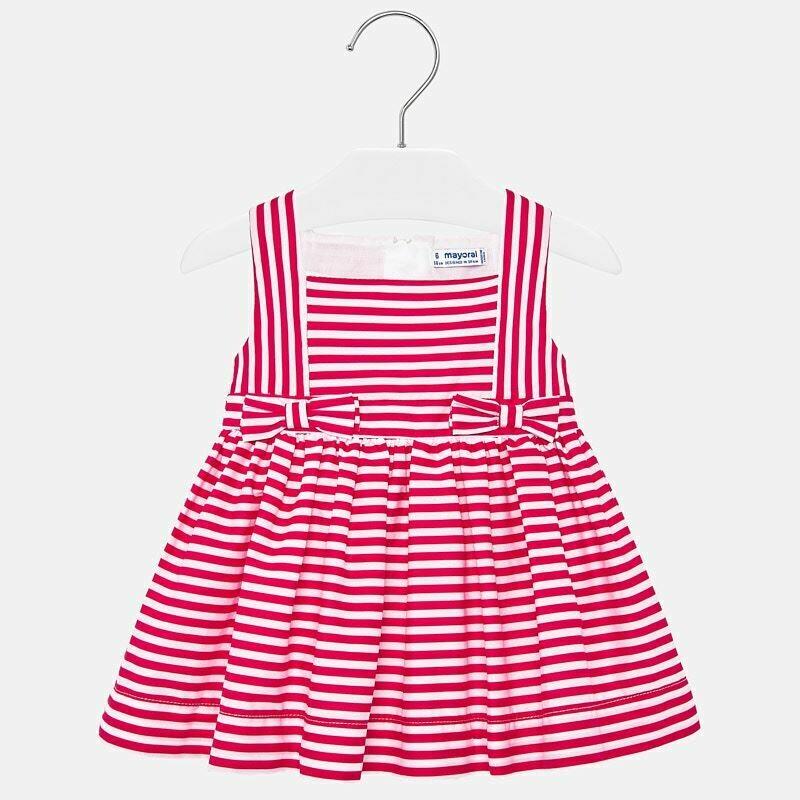 Red Stripe Dress 1919 9m