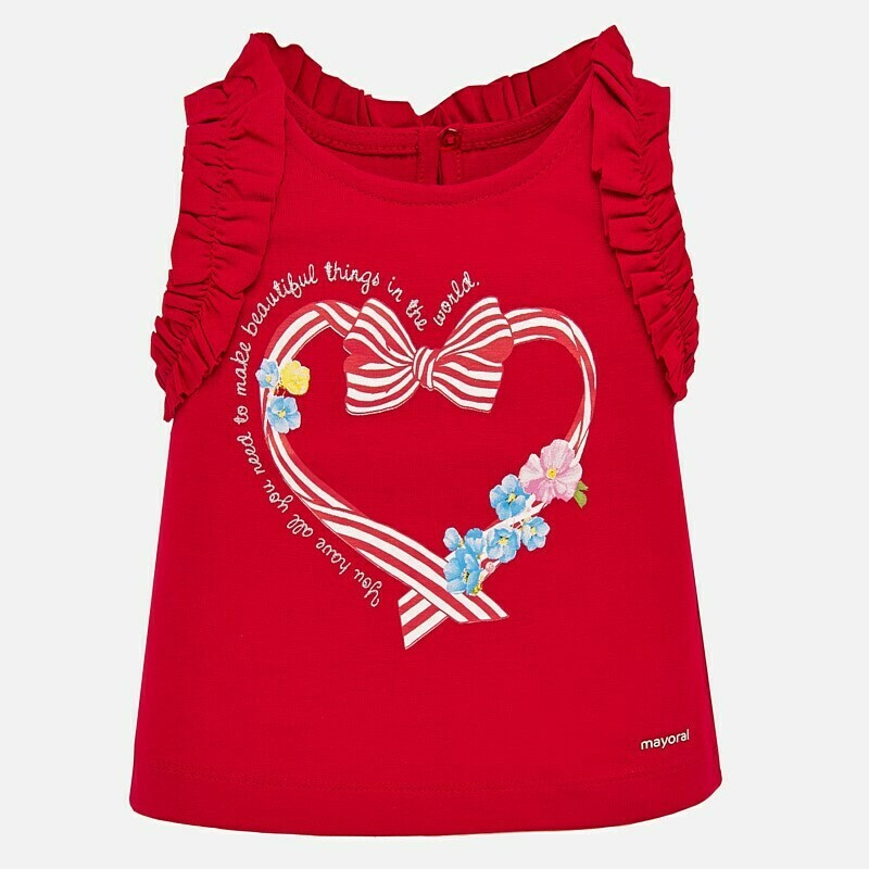 Red Tank Top 1070 6m
