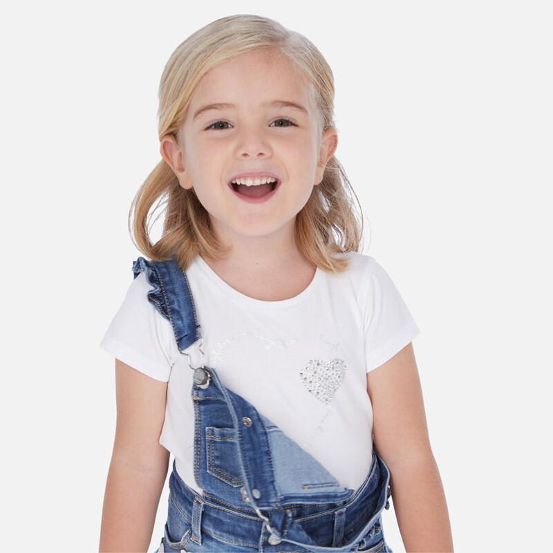 White Heart Shirt 174 5