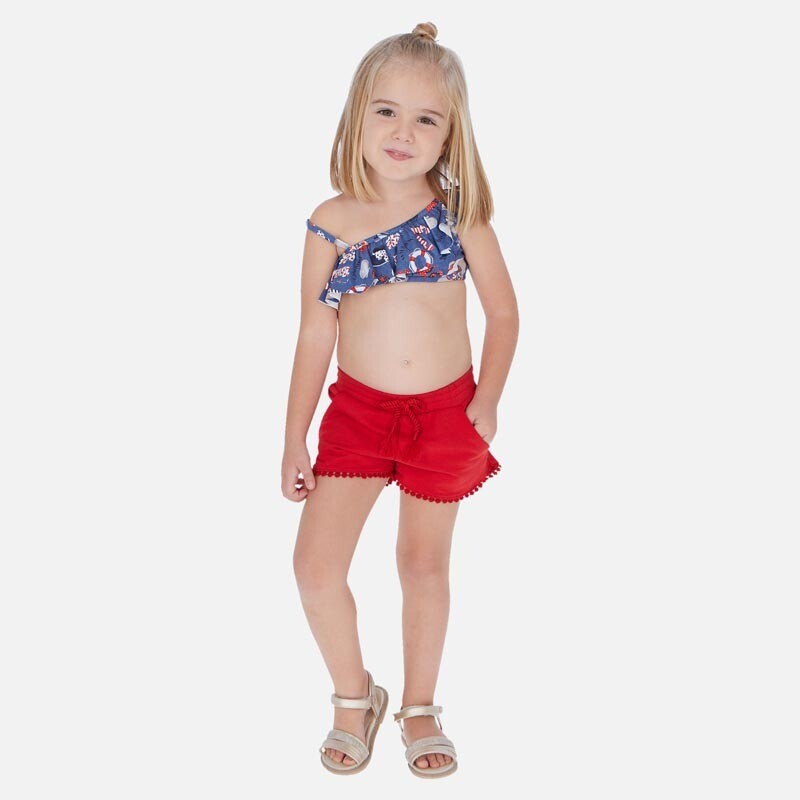 Red Play Shorts 607 4