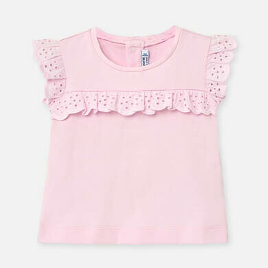 Pink Ruffled T-Shirt 1061 6m