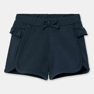 Navy Ruffle Shorts 1204 24m