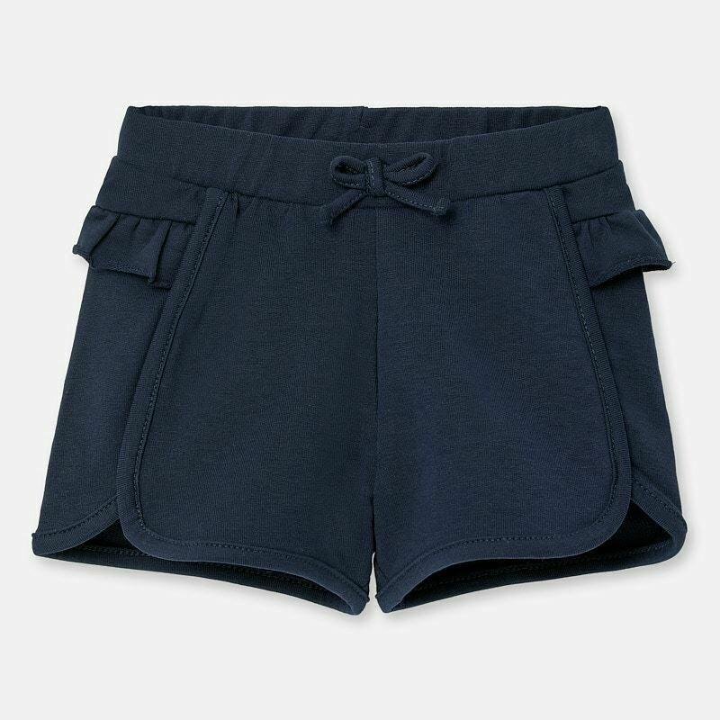 Navy Ruffle Shorts 1204 6m