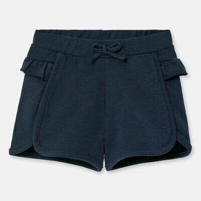 Navy Ruffle Shorts 1204 6m
