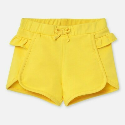 Yellow Ruffle Shorts 1204 6m