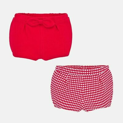 Red Diaper Set 1261 6/9m