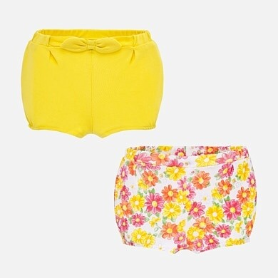 Yellow Diaper Set 1261 4/6m