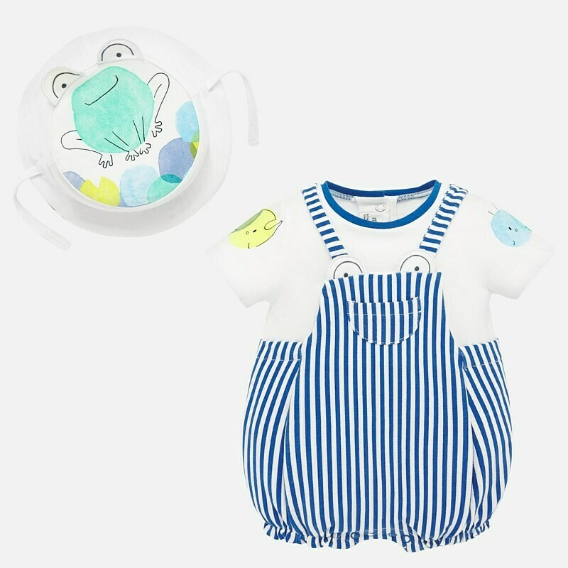 Stripe Romper Set 1658 12m