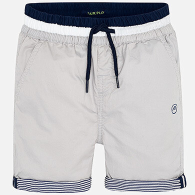 Grey Cuffed Shorts 3254-7