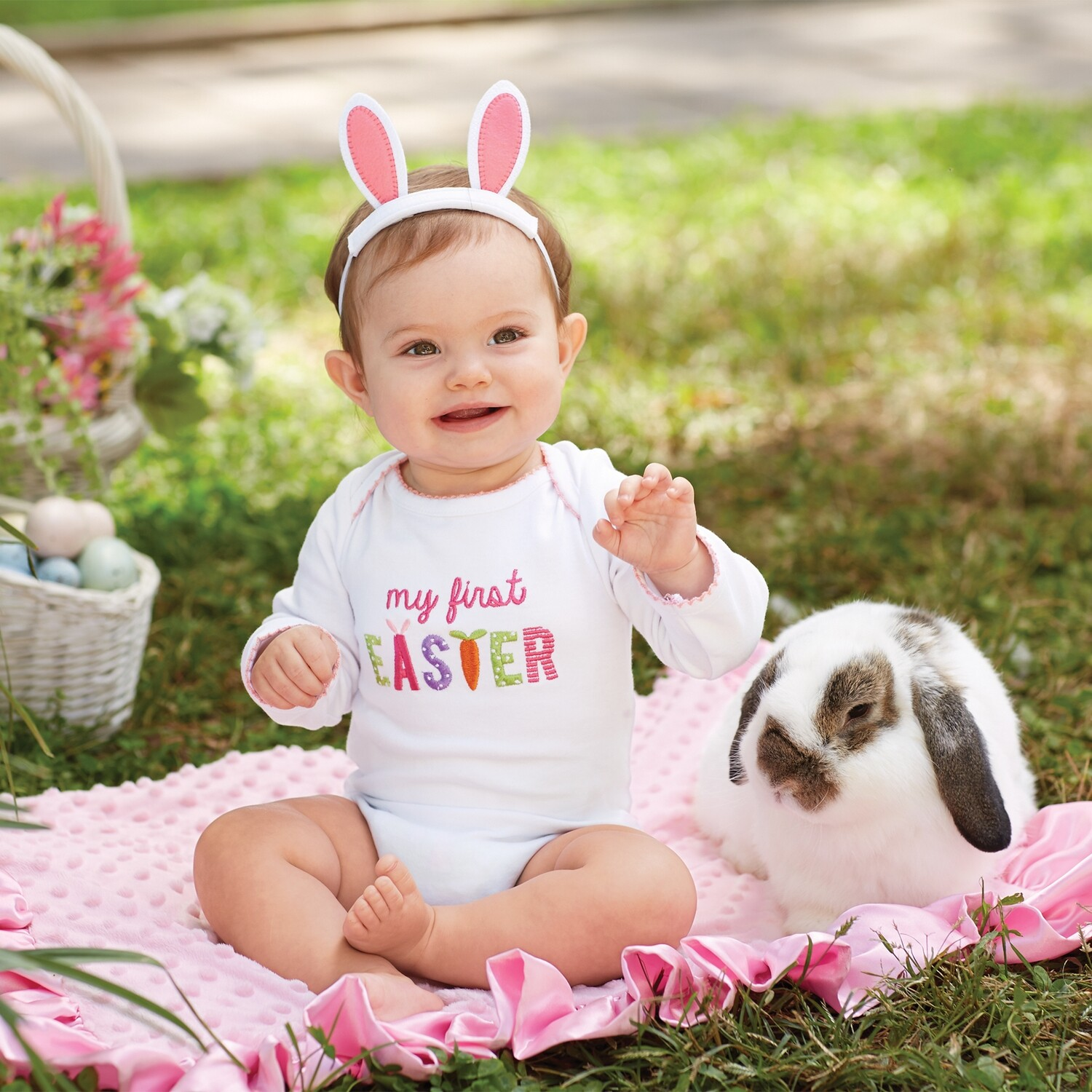 First Easter Crawler & Headband