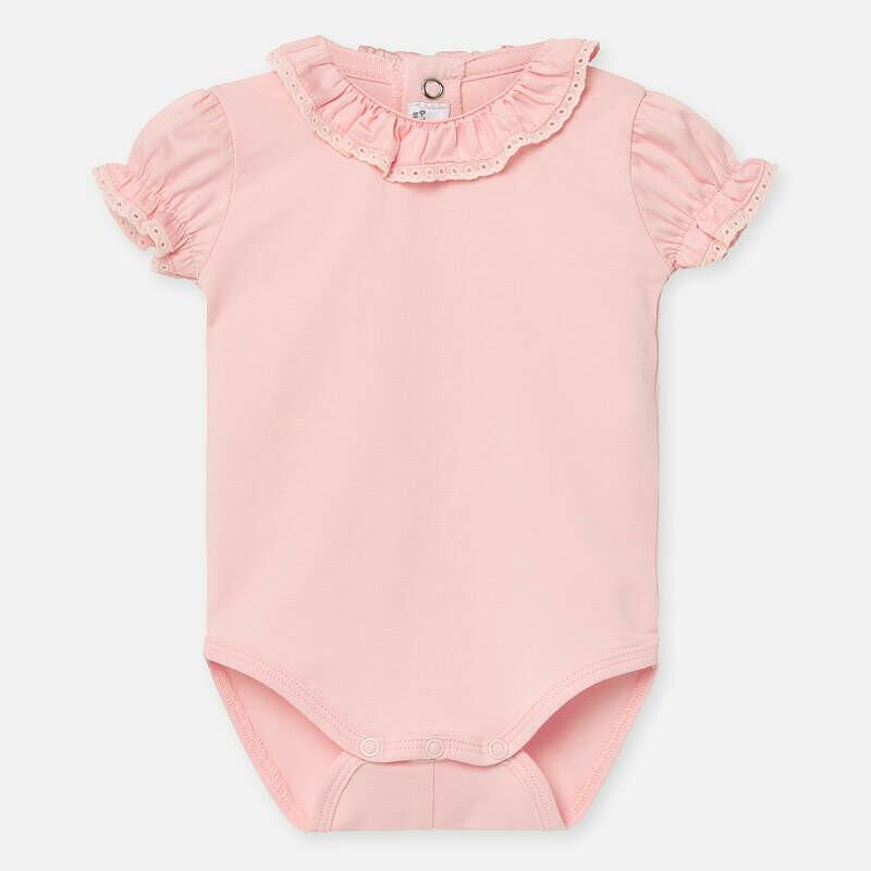 Pink Onesie 1782 2/4m