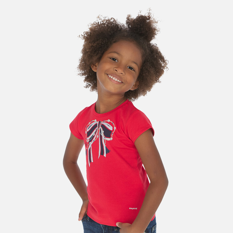 Red Bow T-Shirt 3007 6