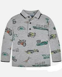 LS  Polo Shirt 4116H-7