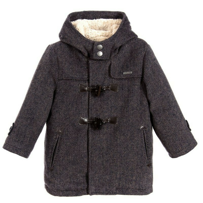Grey Duffle Coat 4460-6
