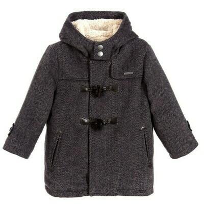 Grey Duffle Coat 4460-6
