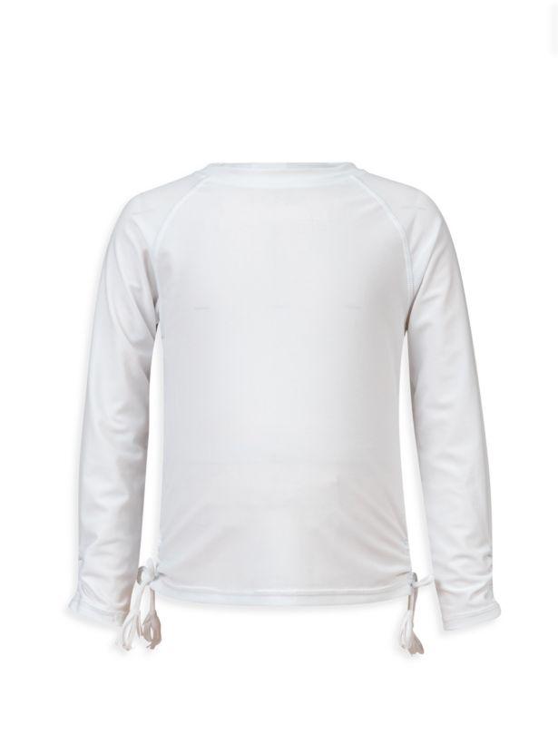 White LS Rash Top - 6