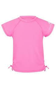 Neon Pink SS Rash Top - 6