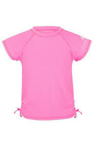 Neon Pink SS Rash Top - 2