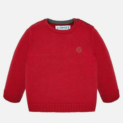 Red Knit Sweater 351 12m