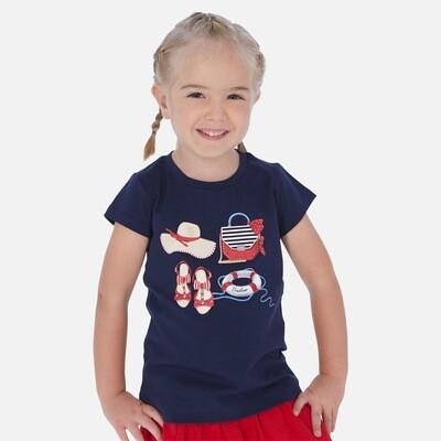 Navy T-Shirt 3017 2