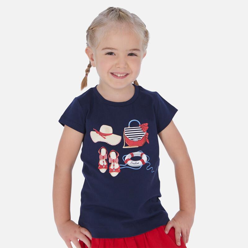 Navy T-Shirt 3017 5