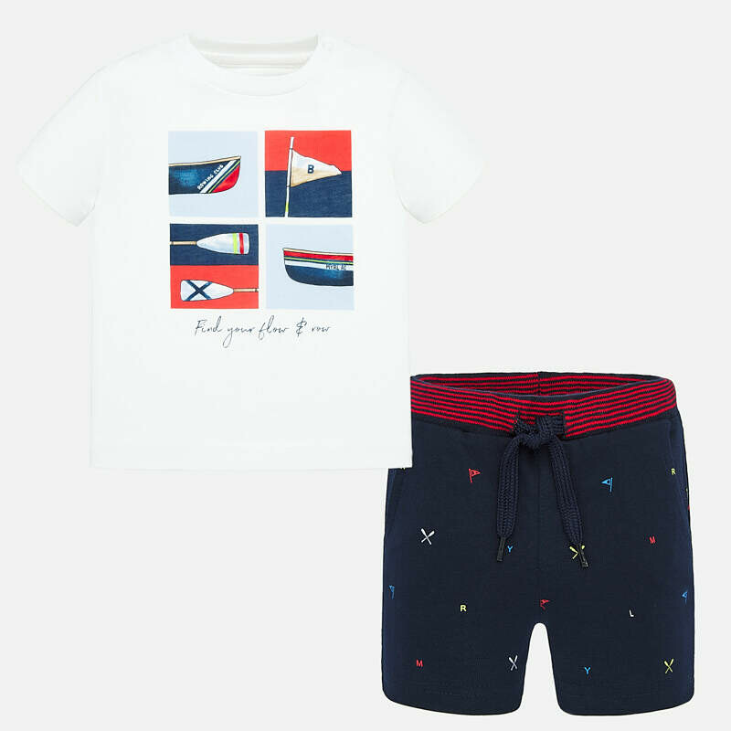 Rowing Shorts Set 1694 18m