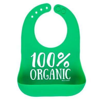 100% Organic Bib