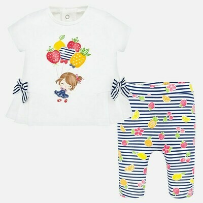 Fruity Leggings Set 1786 4/6m