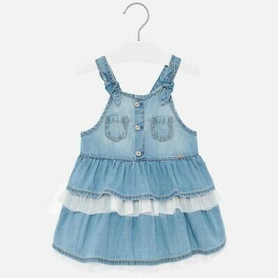 Denim Overall Skirt 1903 9m
