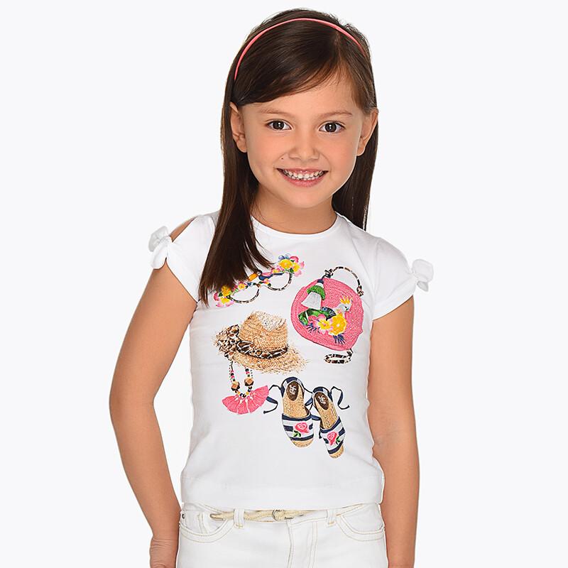 Open Shoulder Shirt 3009B - 6