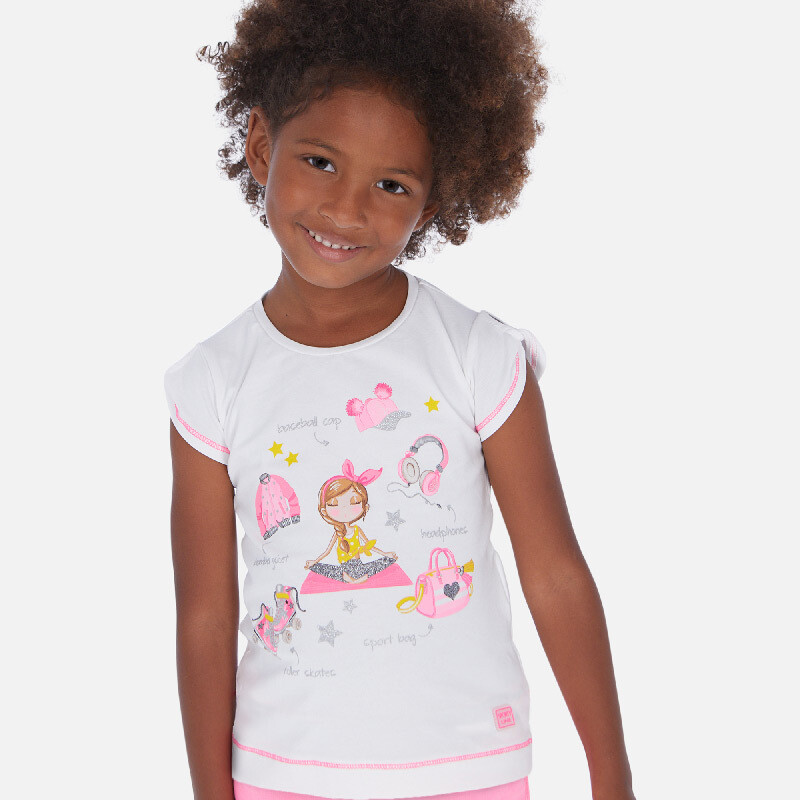 Pink Yoga T-Shirt 3016 5