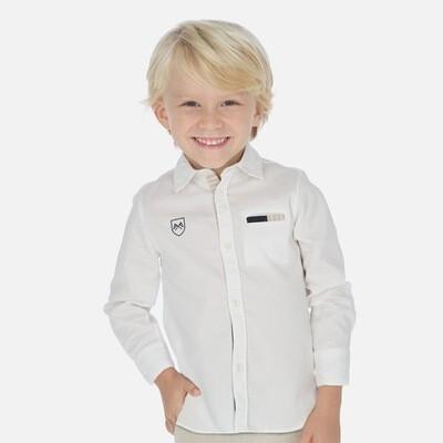 White Dress Shirt 3171-5