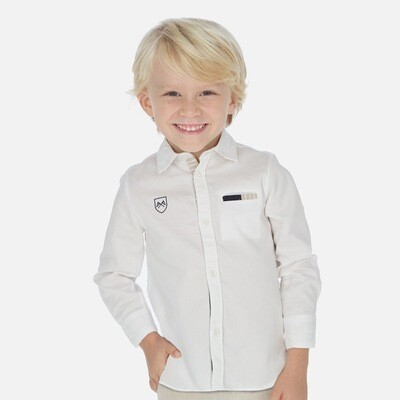 White Dress Shirt 3171-8