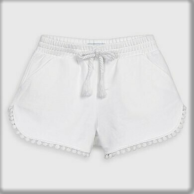 White Play Shorts 607 7