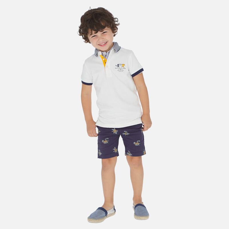 Tiger Print Shorts 3251 2